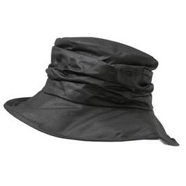 Barbour Ladies Wax Sports Hat in Black a90e29790df8